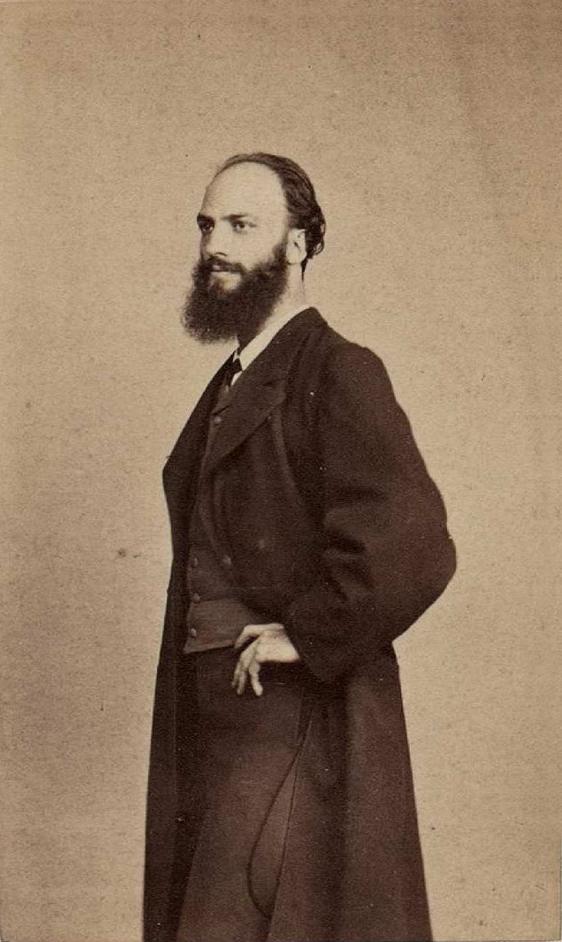 Gisbert, entre 1860 y 1869. Foto: Laurent, J. Biblioteca Nacional de España.