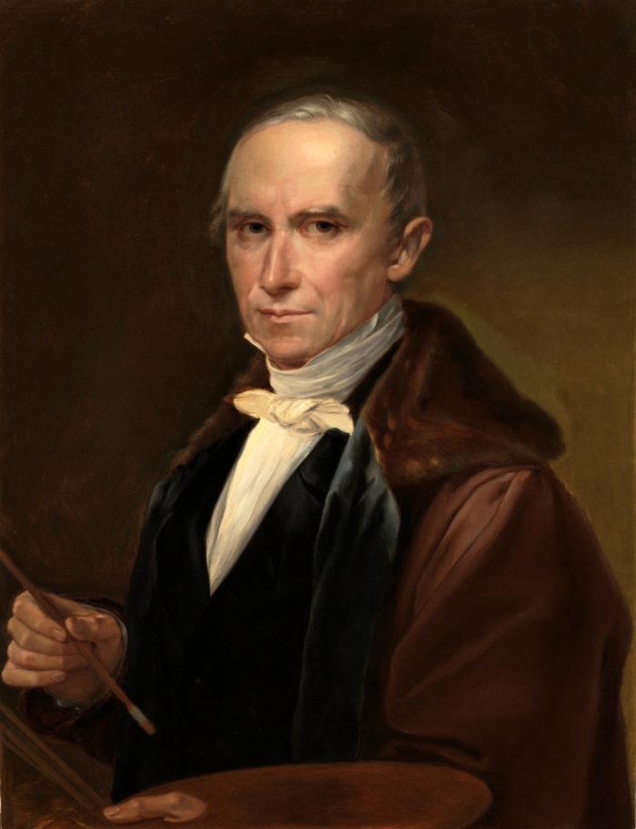 Autorretrato de José Madrazo, 1840. Museo Nacional del Prado