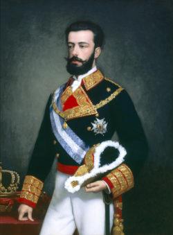 El rey don Amadeo de Saboya, 1872. Consejo de Estado