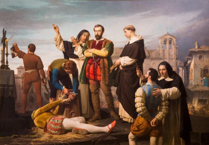 Los comuneros de Castilla, 1860. Congreso de los Diputados